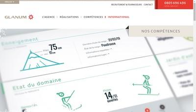 Site internet de Agence Glanum