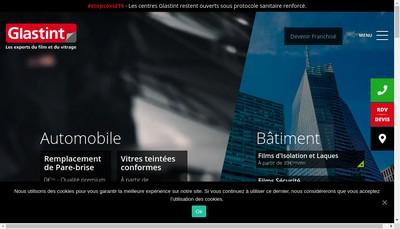 Site internet de Glastint