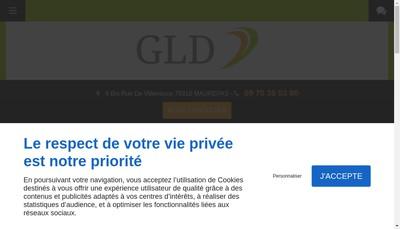 Site internet de GLD