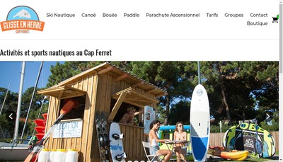 Site internet de Glisse en Herbe