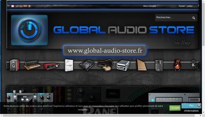 Site internet de Global-Audio-Store