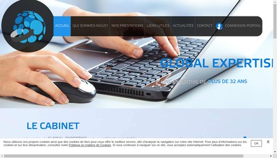 Site internet de Global Expertise