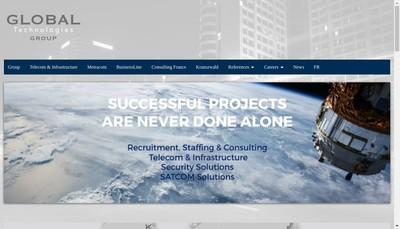 Site internet de Global Technologies