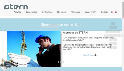 Site internet de SARL Stern