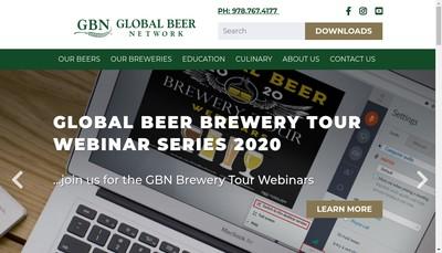 Site internet de Global Beer