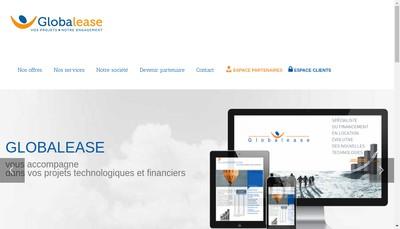 Site internet de Globalease
