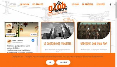 Site internet de Glob Theatre