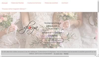 Site internet de Glorya