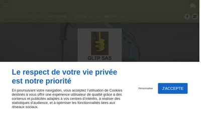 Site internet de Gltp