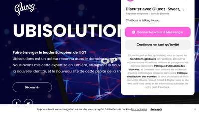 Site internet de Glucoz