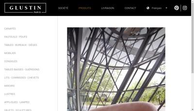 Site internet de Glustin SARL