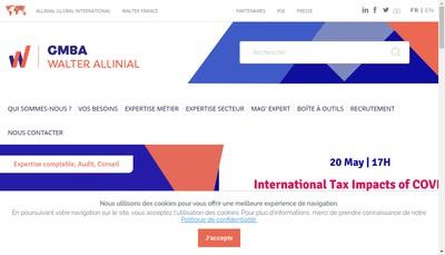 Site internet de Gmba & Co