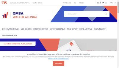 Site internet de Gmba Essonne