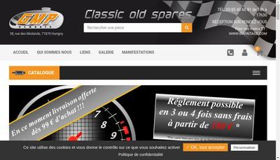 Site internet de Gmp Classic