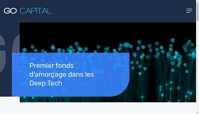 Site internet de Ca Grand Ouest Capital Amorcage