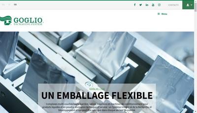 Site internet de Goglio France
