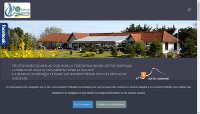 Site internet de Bar Restaurant du Golf