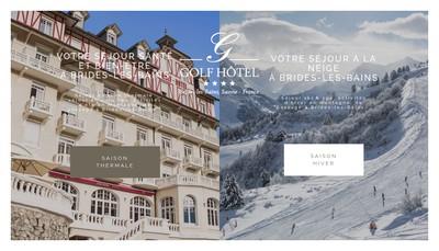 Site internet de Golf Hotel
