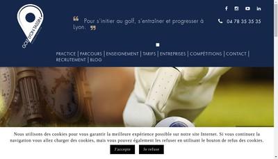 Site internet de Golf Tassin - Golf Only - Lyon Tassin Golf Club