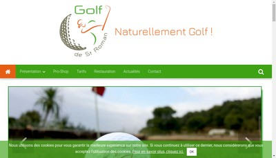 Site internet de Golf de Saint-Roman
