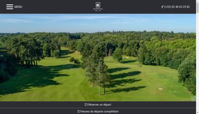 Site internet de Golf de Nantes