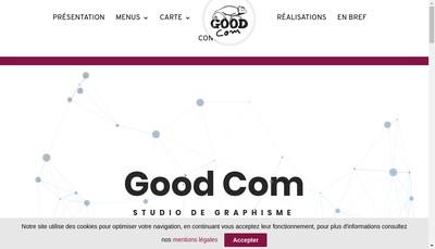 Site internet de Goodcom