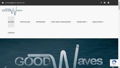 Site internet de Goodwaves