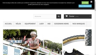 Site internet de Goodman Cycles