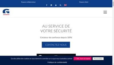 Site internet de Goron SA