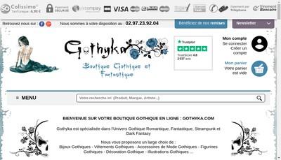 Site internet de Gothyka