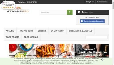 Site internet de Monboucheren1Clic Com Gourmandiseshalal Com