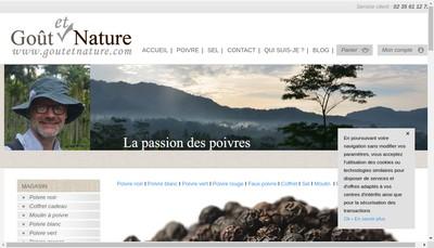 Site internet de Gout et Nature