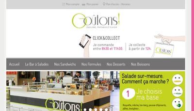 Site internet de Goutons !