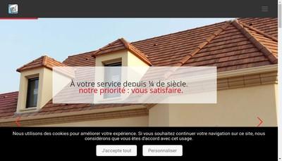 Site internet de Gouttiers et Pliages Ile de France