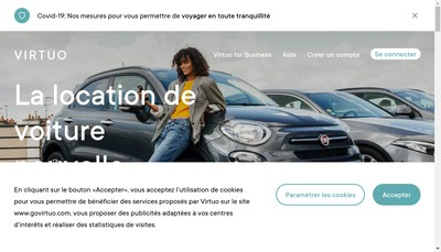 Site internet de Virtuo Technologies