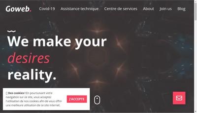 Site internet de Go Web