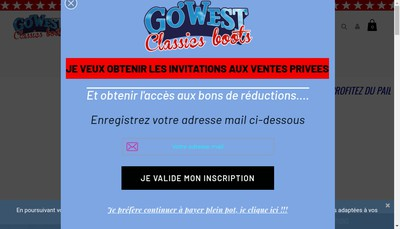 Site internet de Go-West