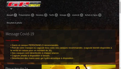 Site internet de GP Circuit