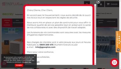 Site internet de Gpasplus