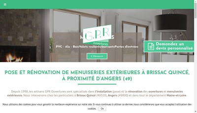 Site internet de Gpr Ouvertures