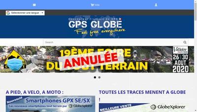 Site internet de Gps Globe