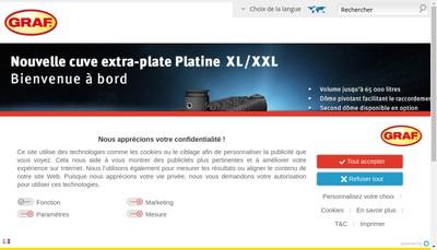 Site internet de Garantia