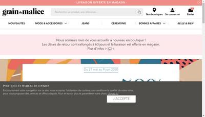 Site internet de Grain de Malice