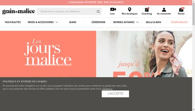 Site internet de Grain de Malice