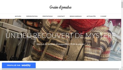 Site internet de Grain d'Poudre