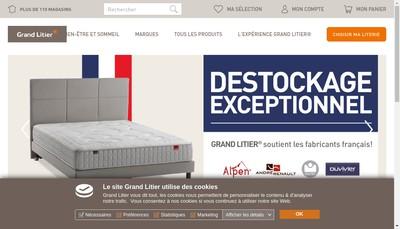 Site internet de Grand Litier