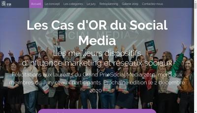 Site internet de Netmediaeurope