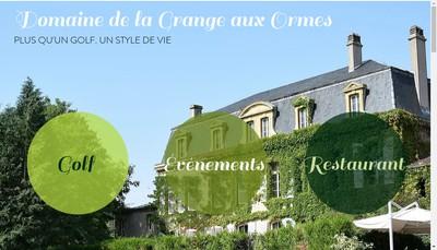 Site internet de La Grange aux Ormes