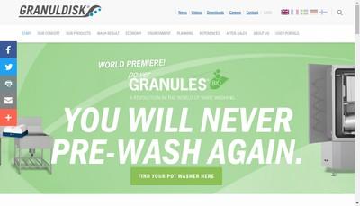 Site internet de Granuldisk France