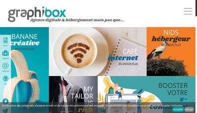 Site internet de Graphibox